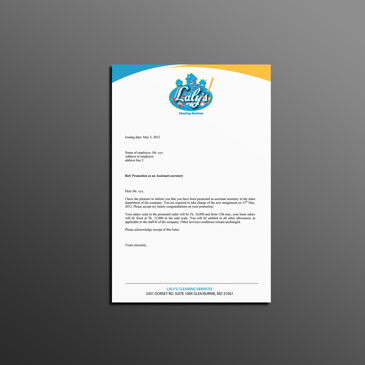 elegant playful house cleaning letterhead design for a company in united states design 18254740