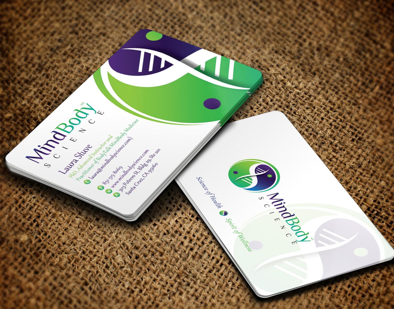 Business Card Design By Sandaruwan For Dr Laura Stuve PhD