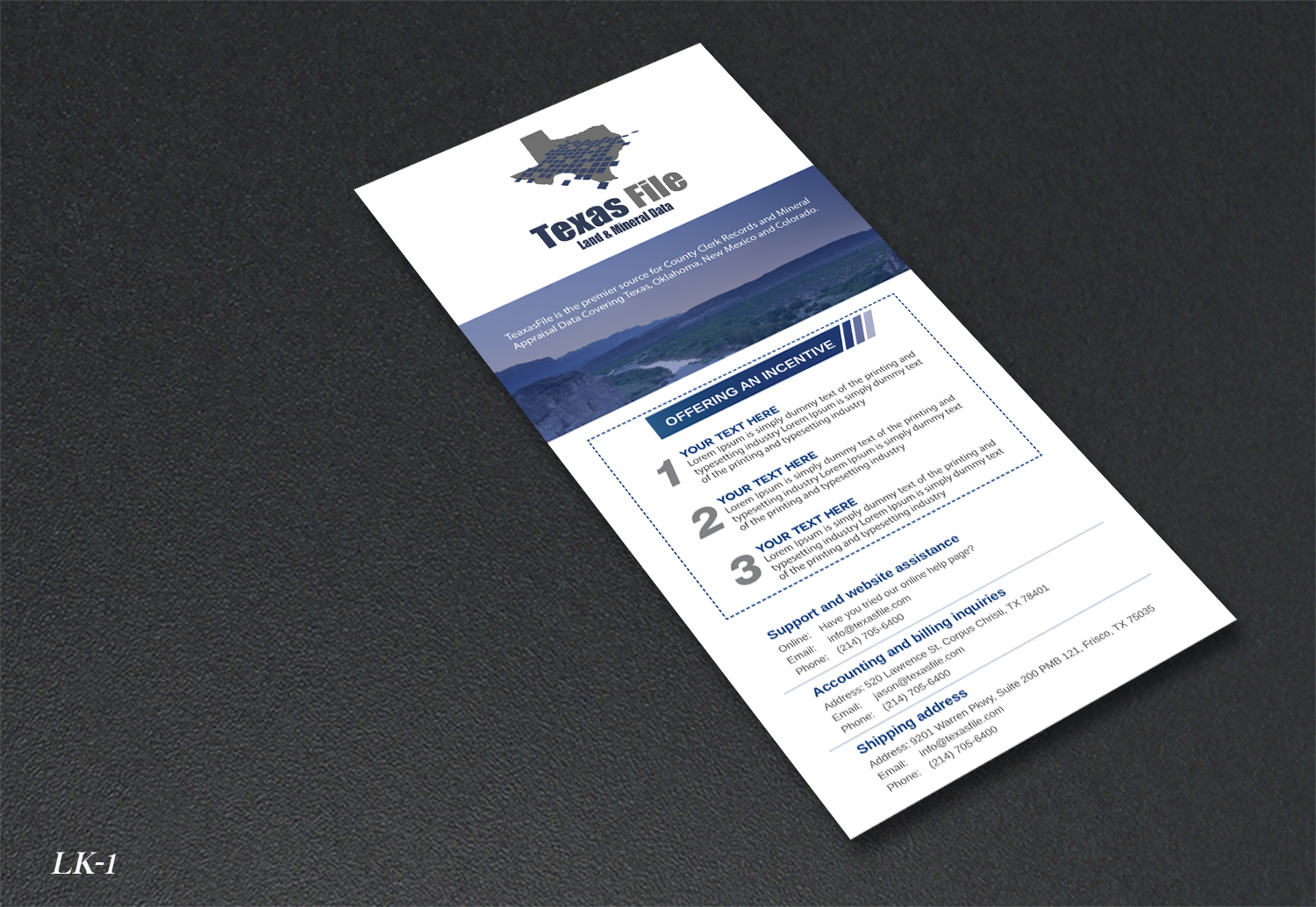 Serious bold legal flyer design for a company by flyer design by designanddevelopment for this project design 18266226 reheart Images