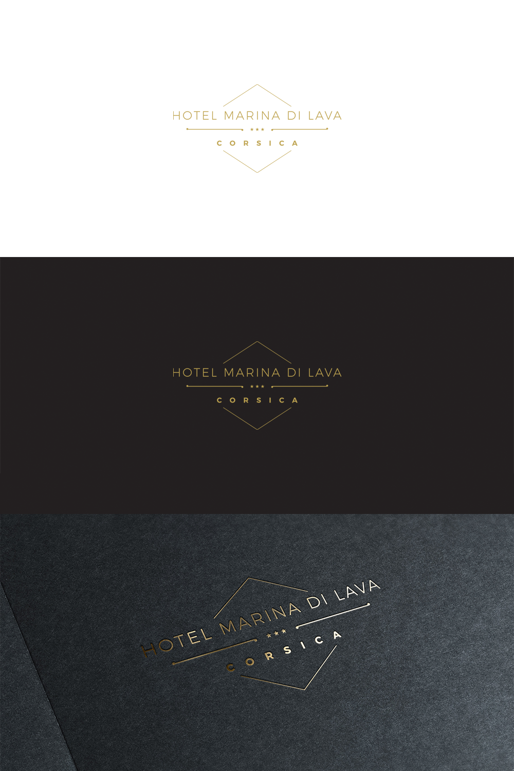 Logo Design By Anhdodes For Marina Di Lava