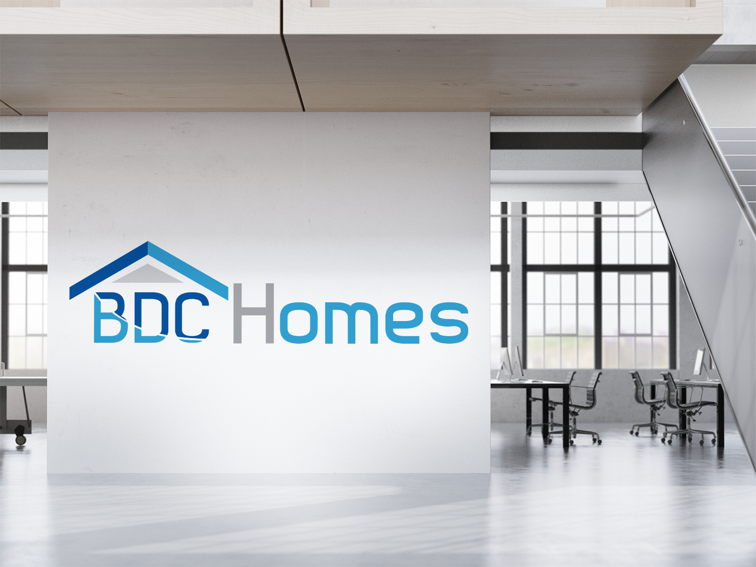 Logo Design for BDC Homes by Mufid 2 | Design #18352168