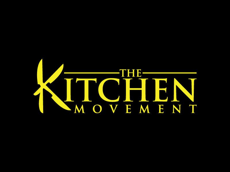 Bold Professional Logo Design For The Kitchen Movement By