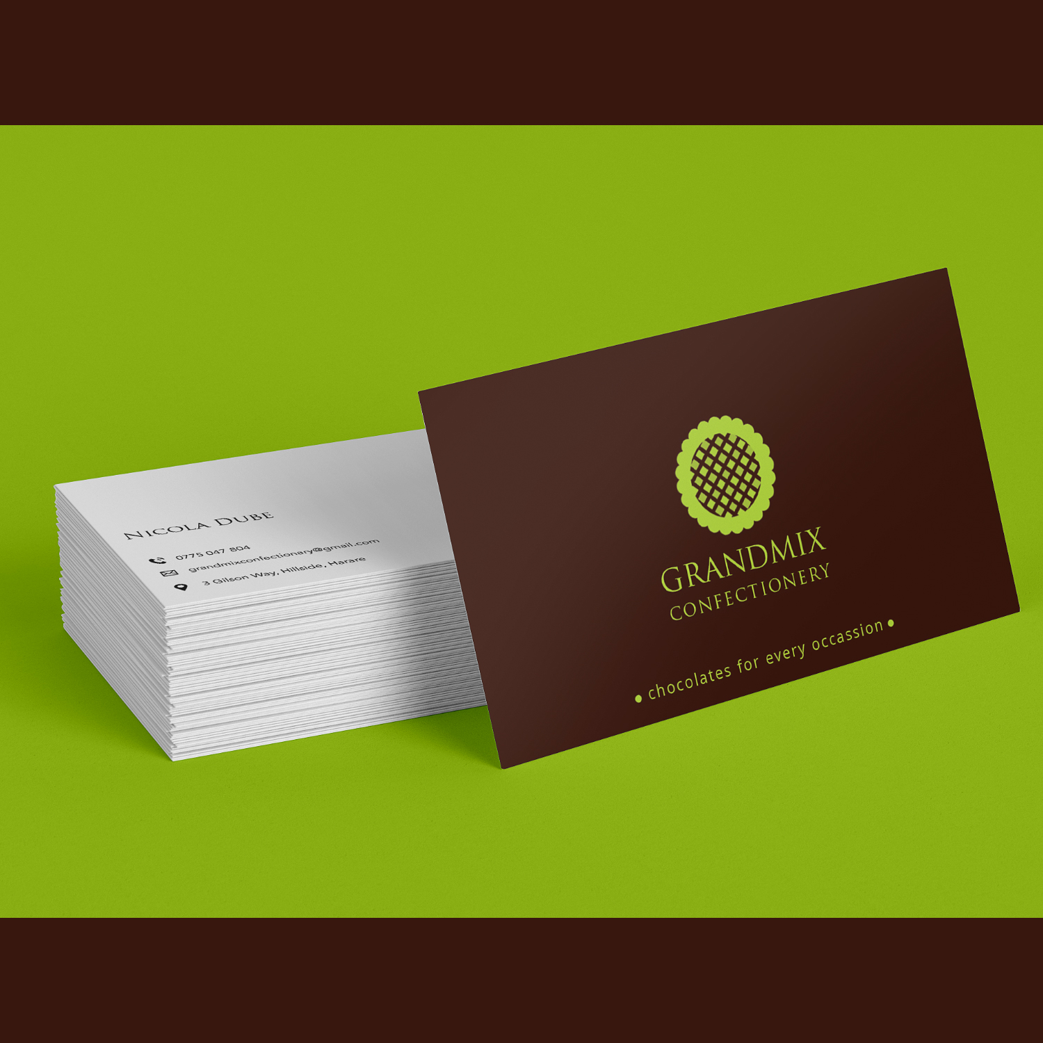 Bold serious food production business card design for a company by bold serious food production business card design for a company in zambia design 18271417 reheart Choice Image