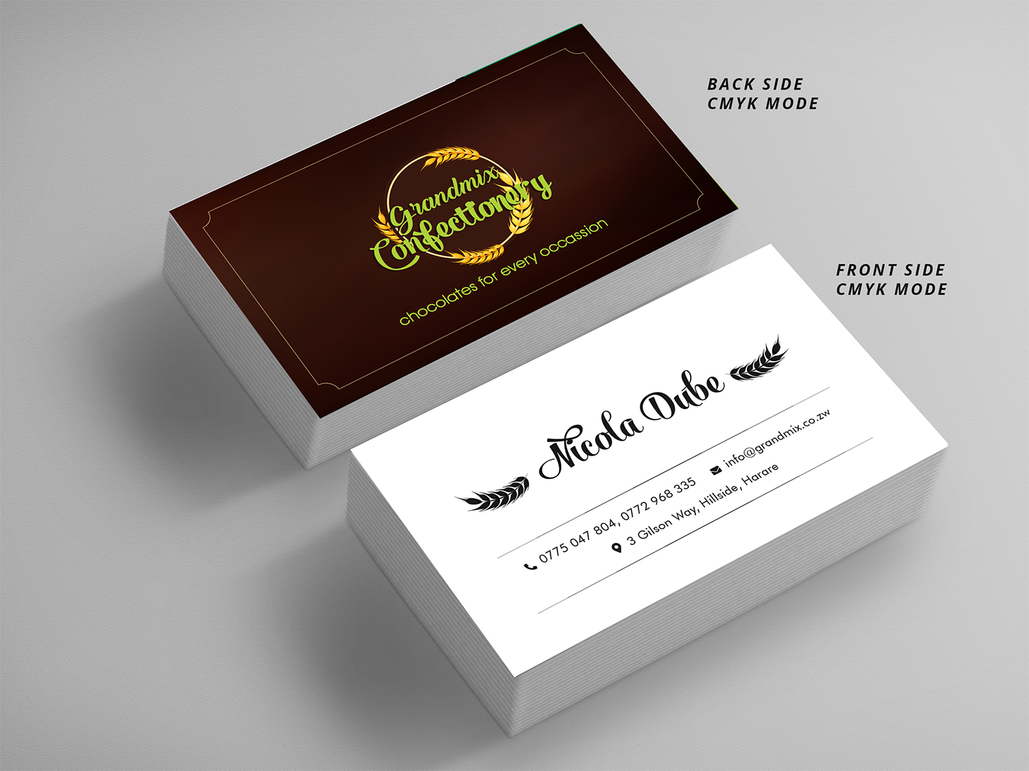 Bold serious food production business card design for a company by bold serious food production business card design for a company in zambia design 18286661 reheart Choice Image