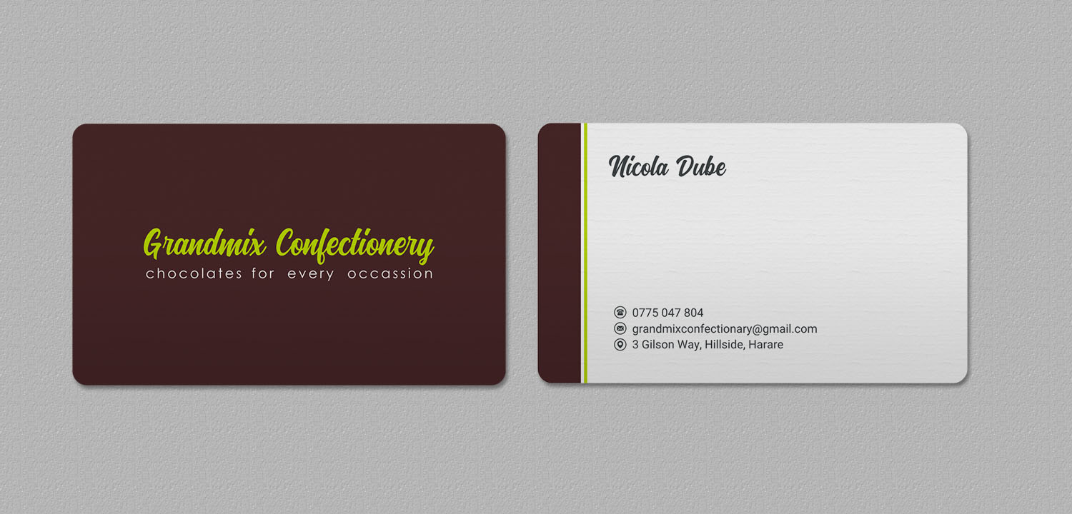 Bold serious food production business card design for a company by bold serious food production business card design for a company in zambia design 18282904 reheart Choice Image