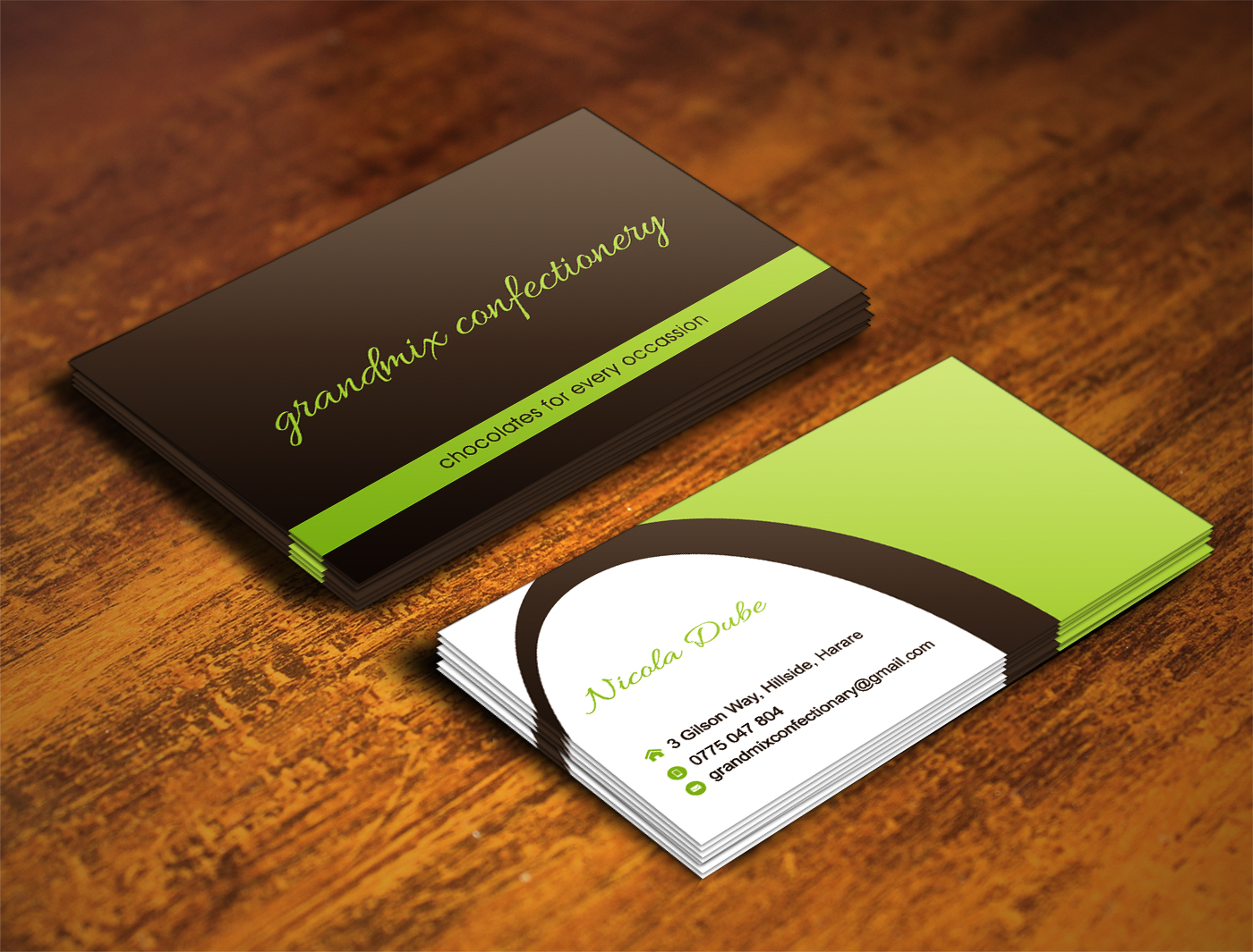 60 bold business card designs food production business card design business card design by illusionadv for this project design 18285393 reheart Choice Image