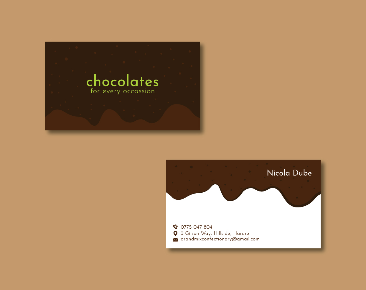 Bold serious food production business card design for a company by bold serious food production business card design for a company in zambia design 18277109 reheart Choice Image