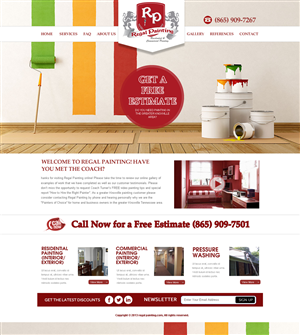Painting Web Design Galleries for Inspiration