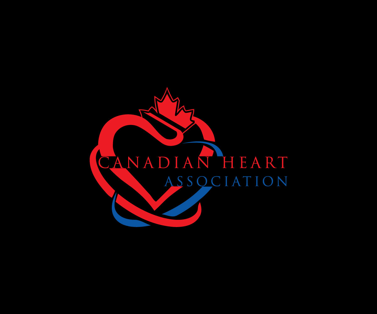 professional bold logo design for canadian heart association by msh