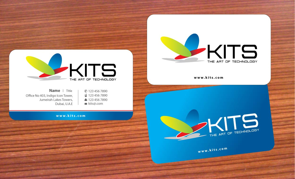 Elegant playful credit card business card design for a company by business card design by sbss for this project design 658098 reheart Choice Image