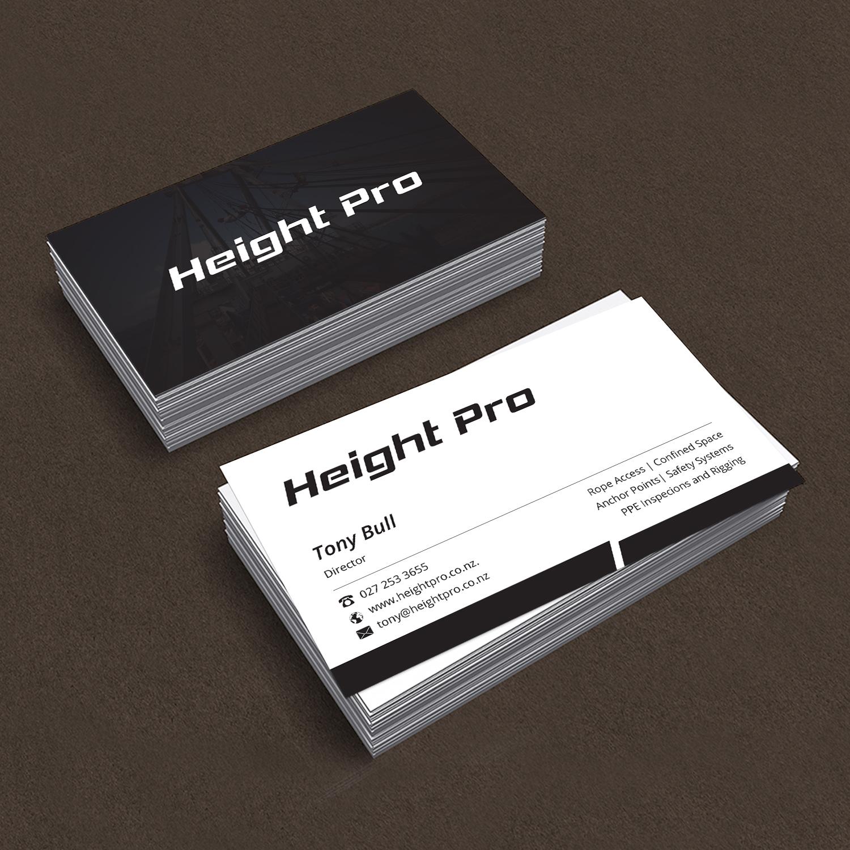 Business Card Design for Height Pro Ltd by Creative Jiniya   Design ...
