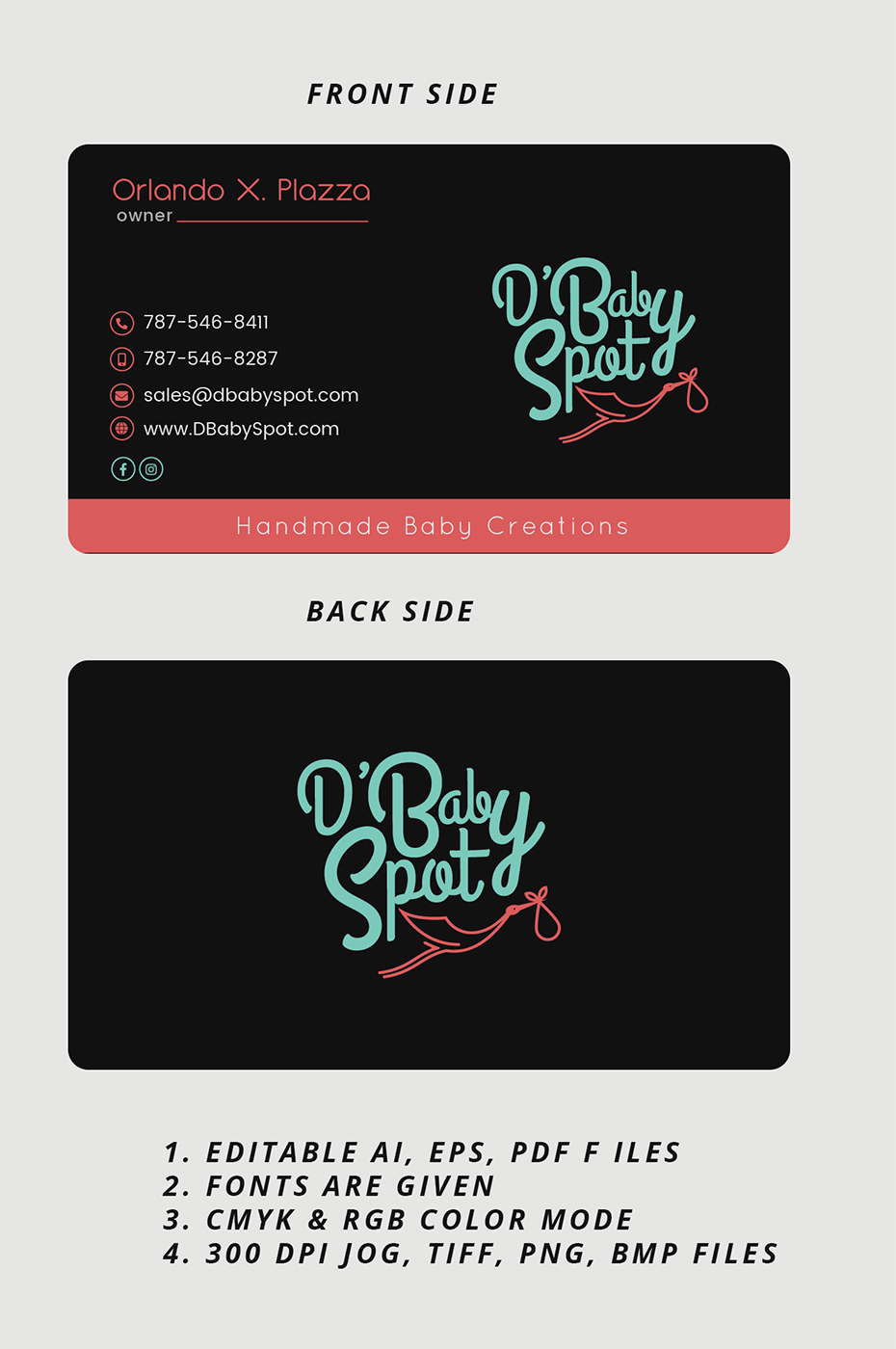 Modern playful retail business card design for a company by expert business card design by expert designer for this project design 18289264 reheart Choice Image