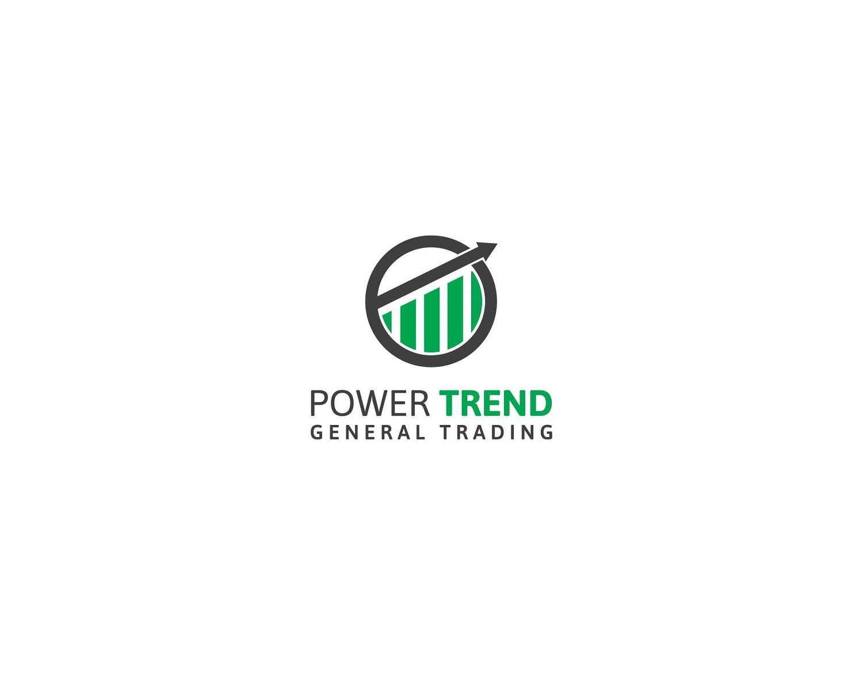 Serious, Masculine, Trade Logo Design for Power Trend