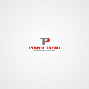 Serious Masculine Trade Logo Design For Power Trend General