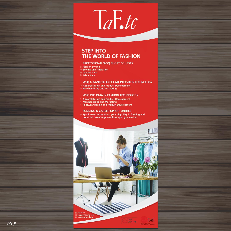 Modern Upmarket Poster Design For Taf Tc By Designanddevelopment Design 18683183