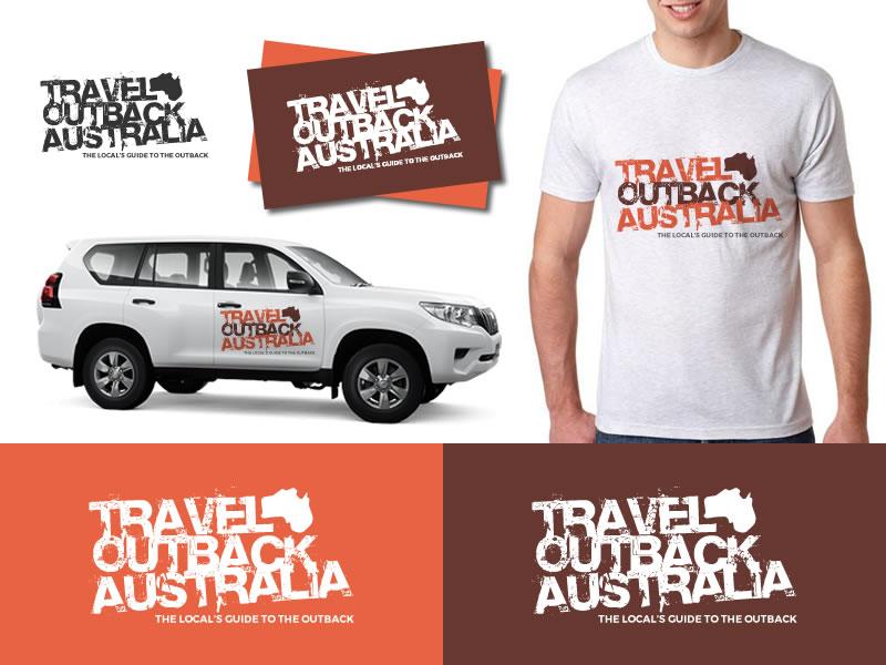 Bold Colorful Logo Design Job Logo Brief For Travel Outback Australia A Company In Australia