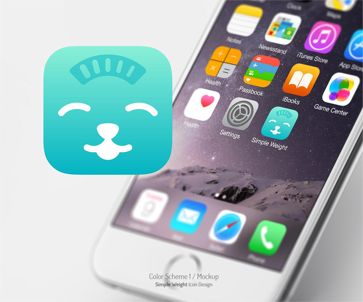 Modern Upmarket Mobile Media Application Icon Design For Simple