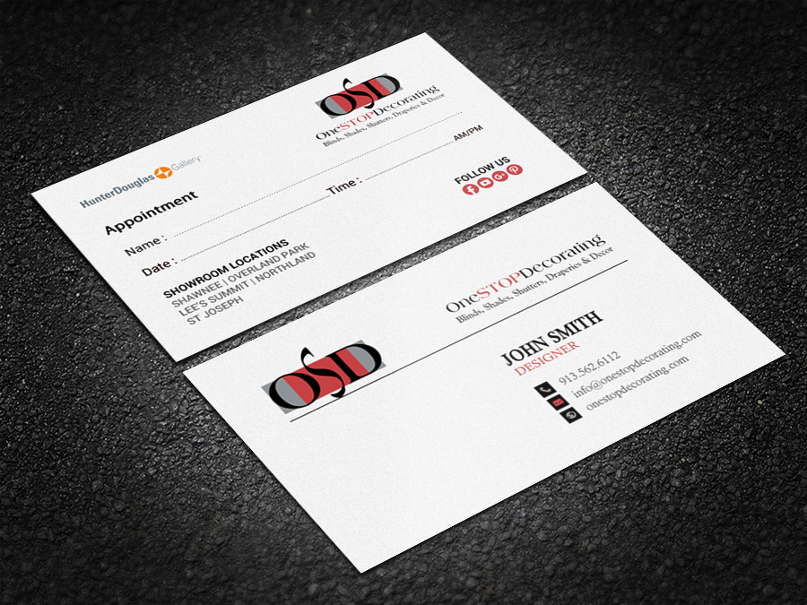 Professional, Serious Business Card Design for Brandon Roellchen by ...
