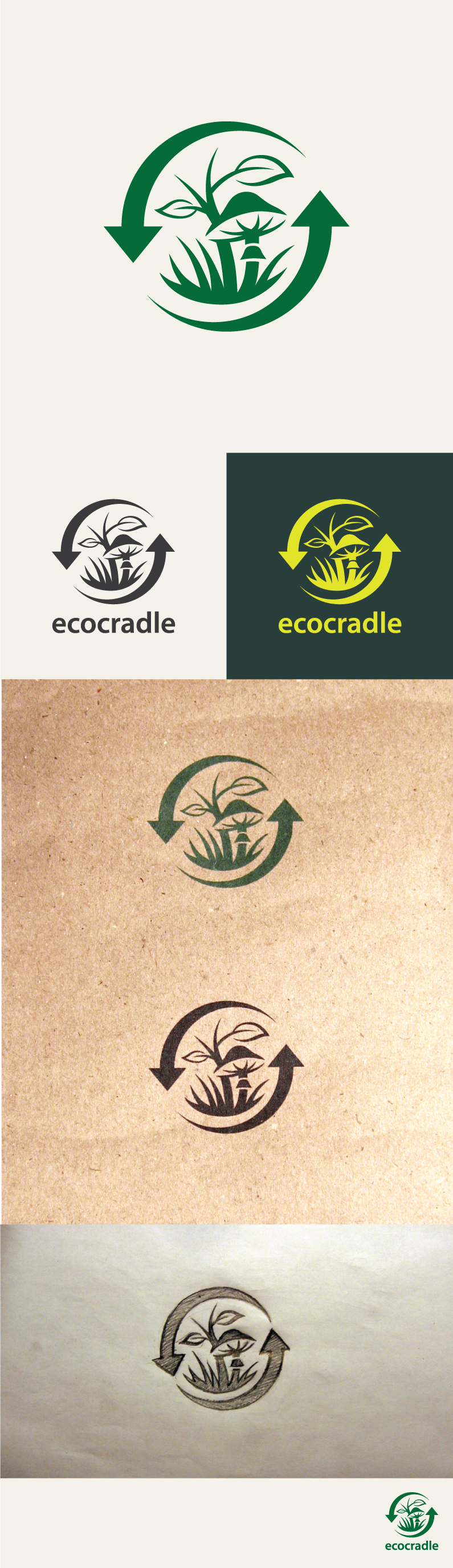 Icon Design by Valdis Baskirovs for eco styrofoam replacement,  logo stamp for product - Design #48260