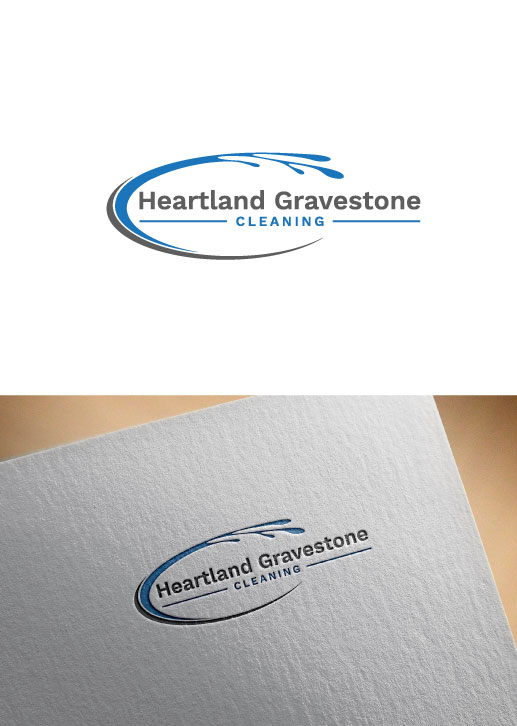 Serious elegant cleaning service logo design for heartland logo design by zobutiger for this project design 18357474 reheart Image collections