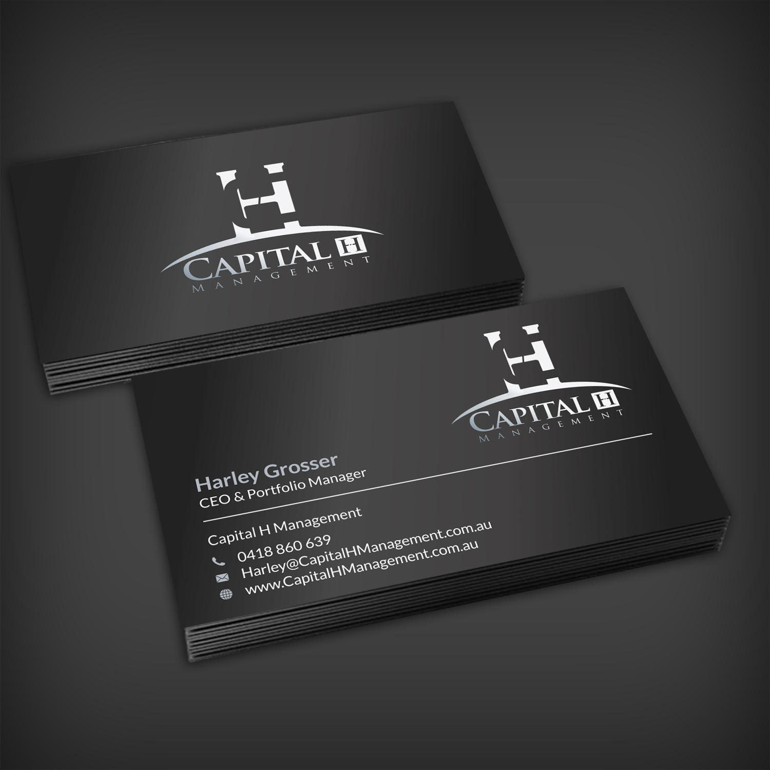 Upmarket, Modern, Finance Business Card Design for a Company by ...