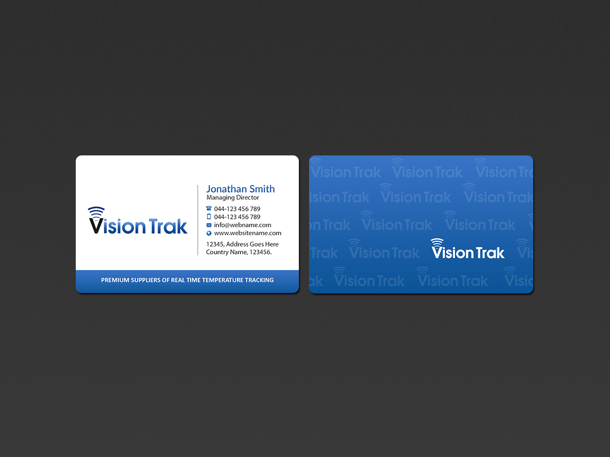 Modern bold logistics business card design for a company by business card design by creations box 2015 for this project design 18354454 reheart Choice Image