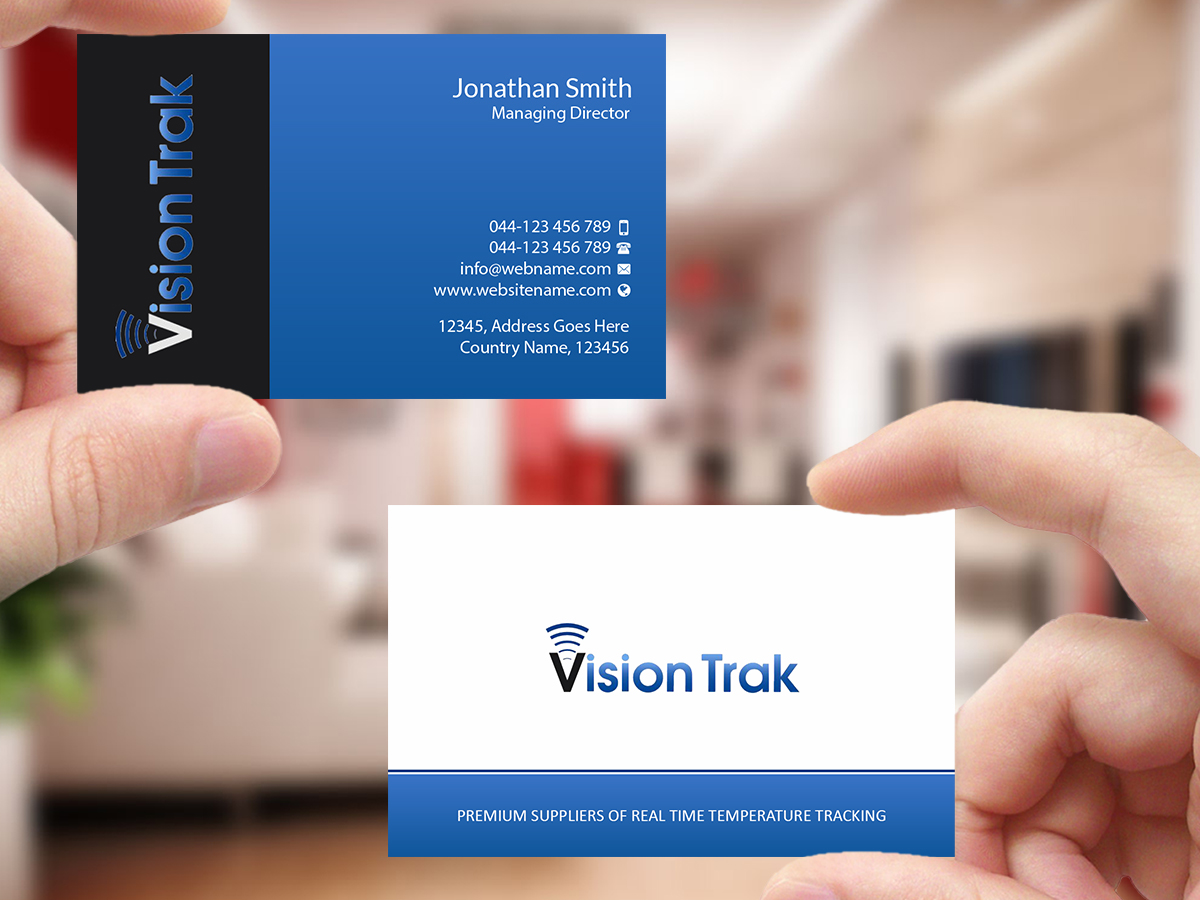 Modern bold logistics business card design for a company by business card design by creations box 2015 for this project design 18354463 reheart Choice Image