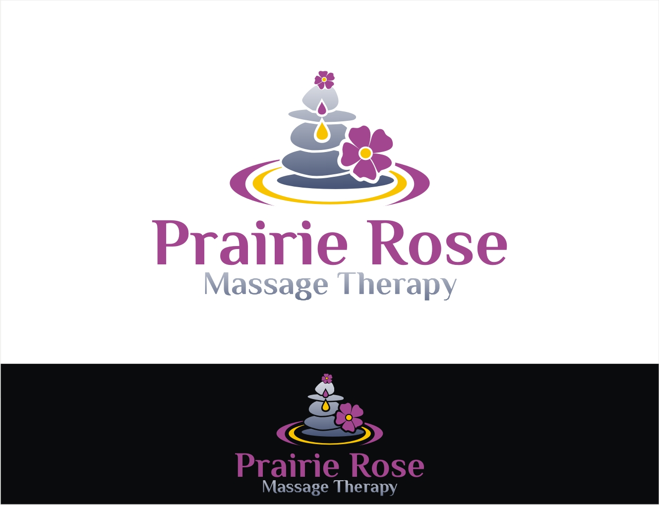 Elegant, Professional Logo Design for Prairie Rose Massage Therapy ...