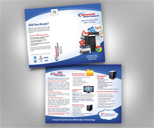 Brochure Design by earldesigns - Brochure and mailer designed for Document equip ...