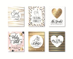 7 playful label designs wedding label design project for natural