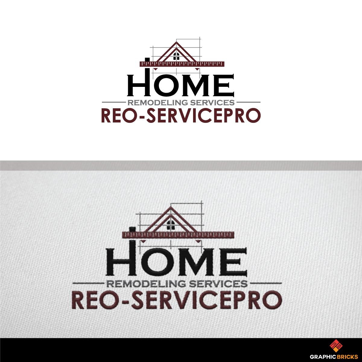 Upmarket Masculine Home Improvement Logo Design For Reo