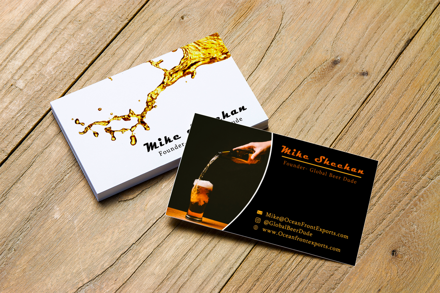 Bold, Modern Business Card Design for a Company by Creation Lanka ...