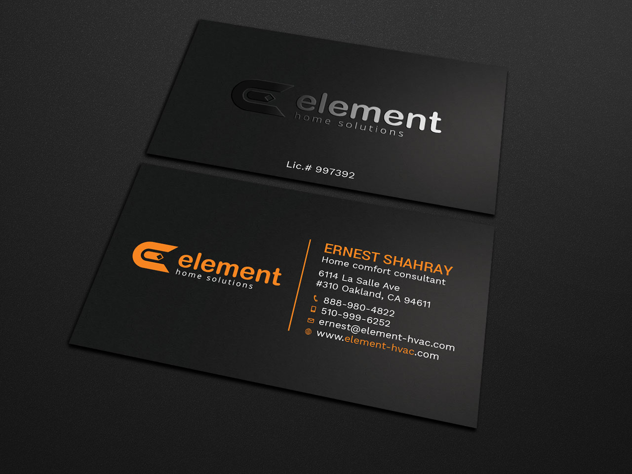 Bold, Playful, Hvac Business Card Design for a Company by ...