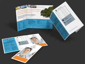 Brochure Design by quancho - Brochure design for HELLOMED clinic