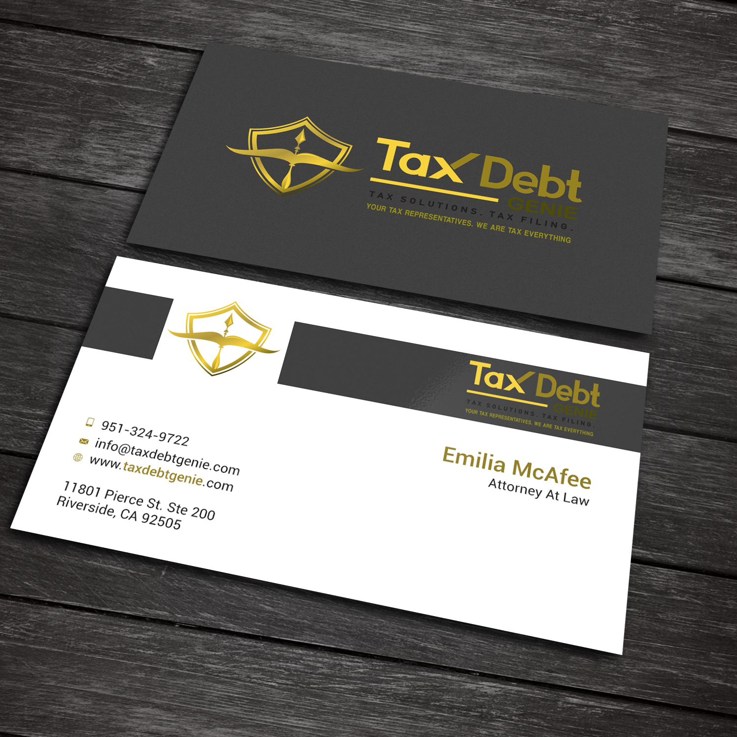 Upmarket Elegant Business Card Design For A Company By Sanrell