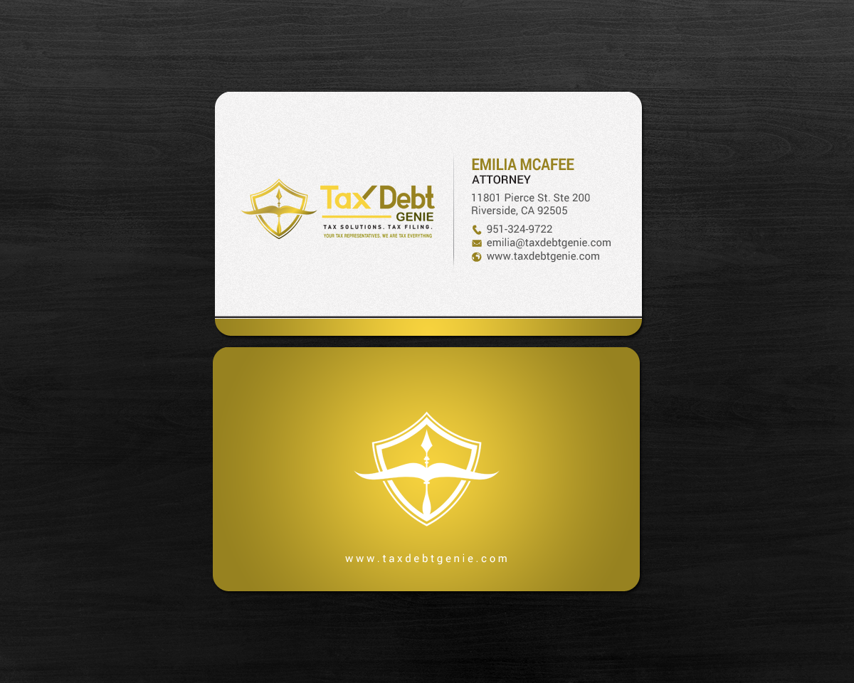 Upmarket Elegant Business Card Design For A Company By Chandrayaan