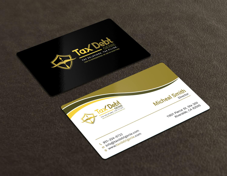 Upmarket Elegant Business Card Design For A Company By Avanger000