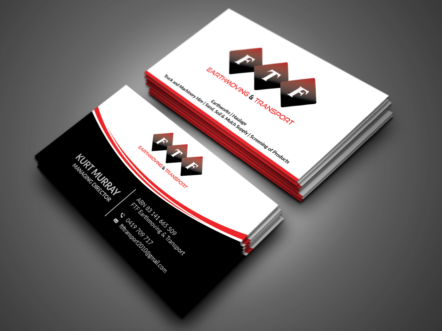 Bold, Masculine Business Card Design for Create Health & Fitness by ...