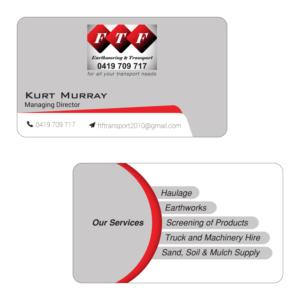 Transport business card design galleries for inspiration ftf earthmoving transport business card business card design by sezedul reheart Image collections
