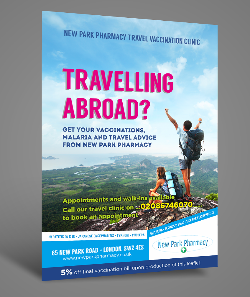 Modern Upmarket Travel Flyer Design For A Company By