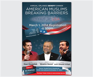 Flyer Design by  Esolbiz - Annual Banquet Flyer for American Muslim Civic ...