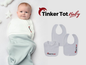 Elegant Playful Logo Design For Tinker Tot Baby By Anekaa Design