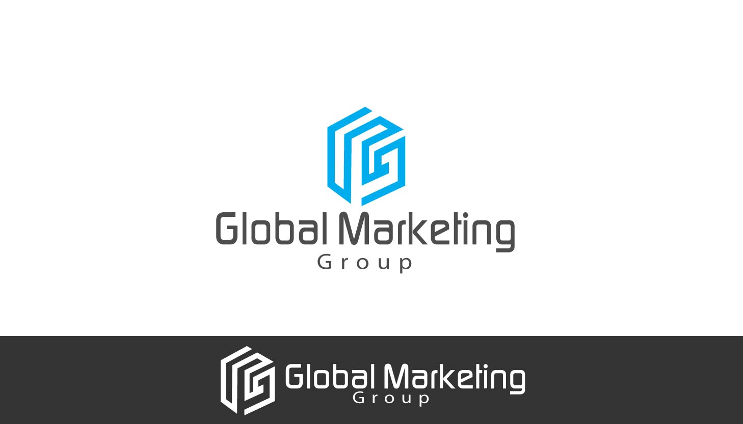 Upmarket colorful it company logo design for global for Global design company
