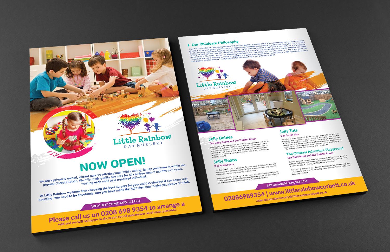 Elegant Playful Childcare Flyer Design For A Company By Deziner Wiring Zones Uk In United Kingdom 18449622