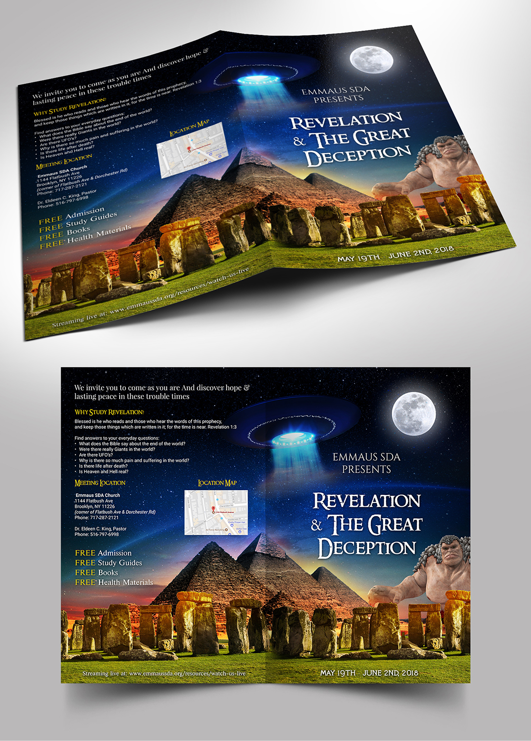Elegant, Playful Flyer Design for Visions of Health by SD
