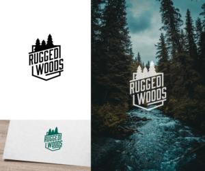 Rugged Woods | Logo Design by VGB