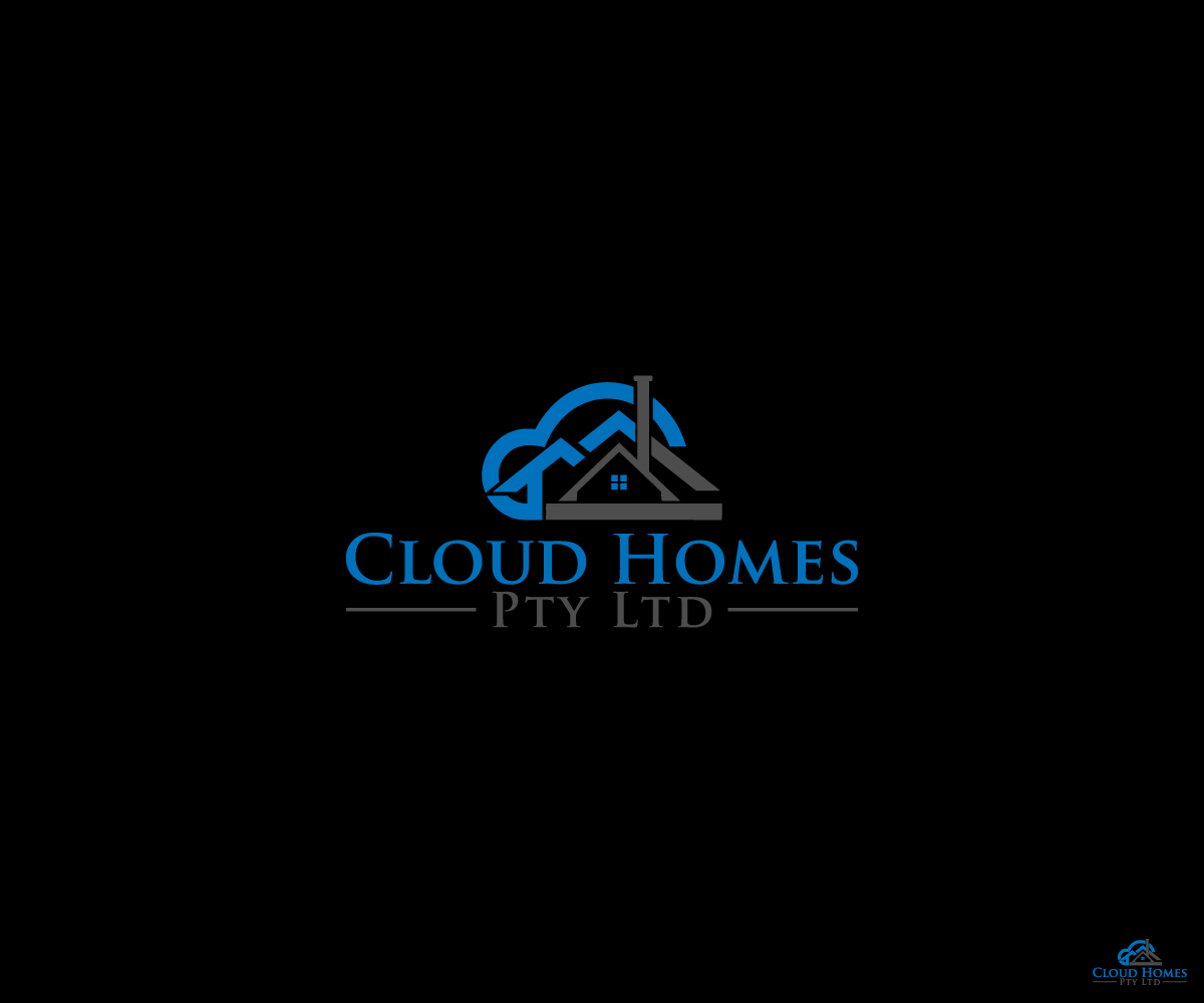 Modern Professional Building Logo Design For Cloud Homes Pty Ltd