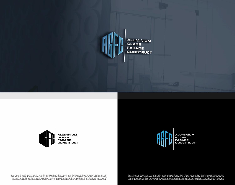 Modern, Masculine, Construction Company Logo Design for AGFC