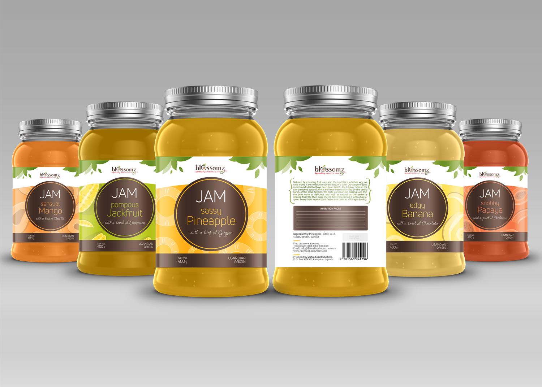 Modern, Upmarket, Food Production Packaging Design for Burhani