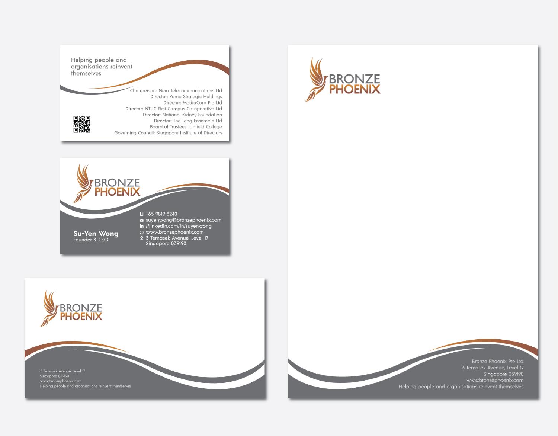 Elegant, Upmarket, Professional Service Stationery Design for a